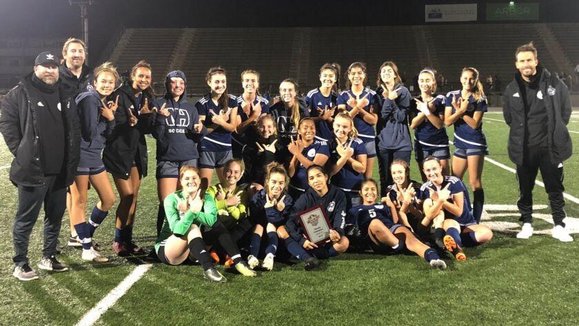 High School Roundup: Newport Harbor, CdM girls' soccer teams