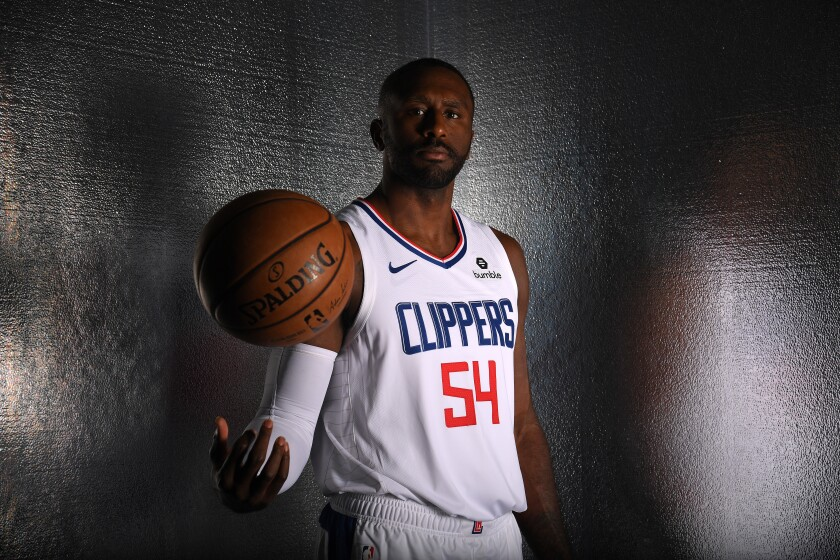 Clippers forward Patrick Patterson.