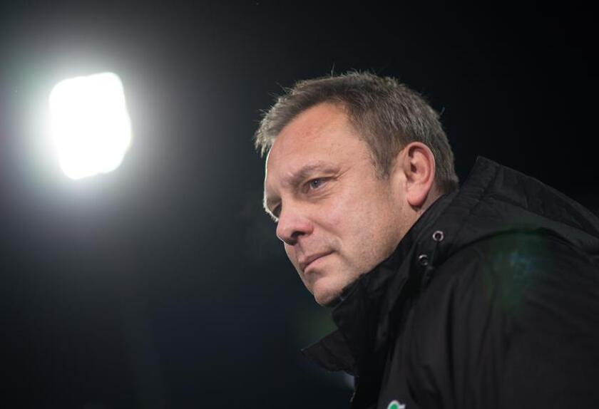 El entrenador del Hannover 96, Andre Breitenreiter. EFE/Archivo