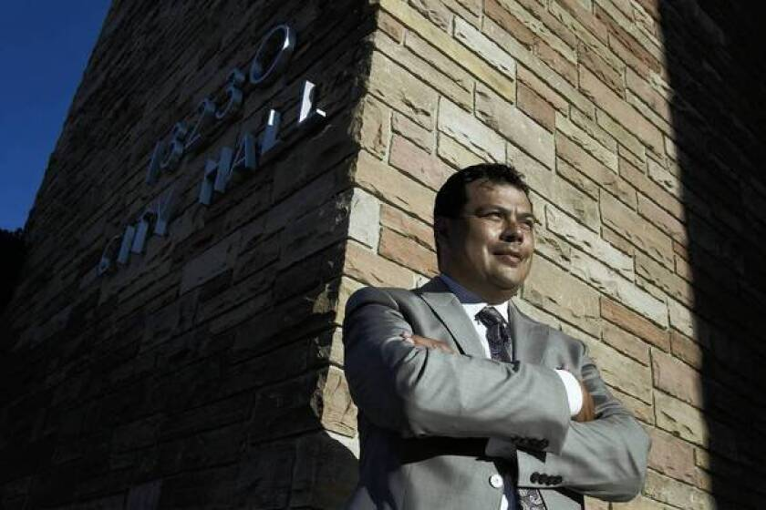 """Attorney Alex Moisa ran twice for City Council in Whittier, unsuccessfully. """"Politics here are to a large degree stagnant,"""" he said. The city was recently sued by Latino activists who said they had tried for years to get representation on the council."""