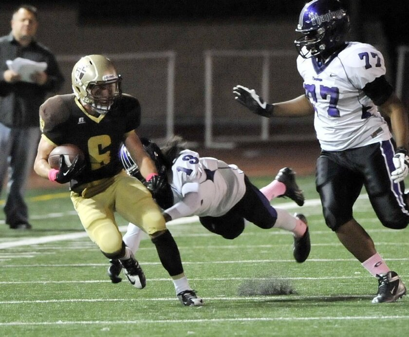 Six St. Francis football players pick up All-CIF recognition