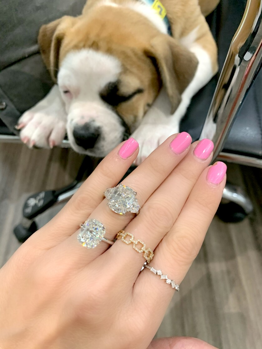 Miss Diamond Ring founder Michelle Demaree has been regularly selling hefty engagement rings despite the COVID-19 pandemic.