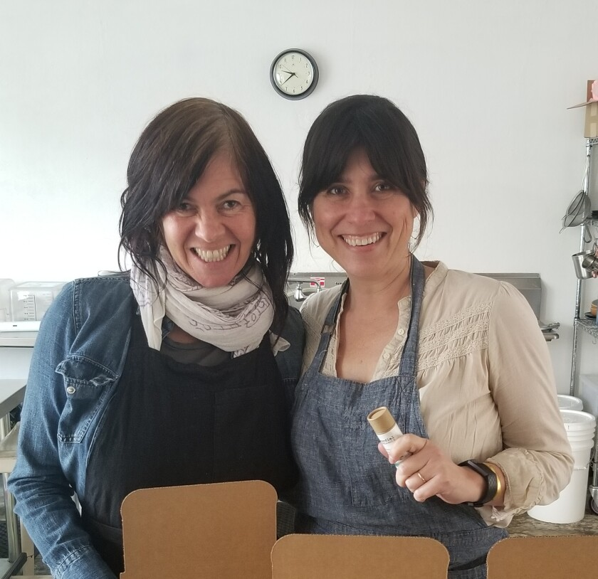 Shelly Phegley and Desi McKinnon of Cordial Organics
