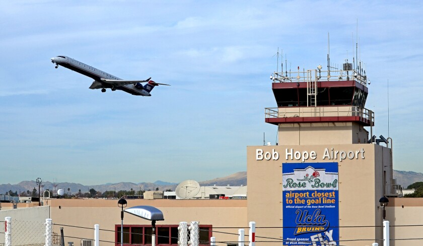A study of online Twitter posts that mention the TSA found that only one airport in the nation had mostly positive posts: Bob Hope Airport in Burbank.