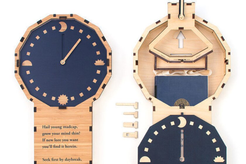 The prototype of the Midnight Clock.