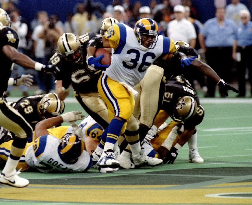 buy popular b69c7 0f1a2 Jerome Bettis' top L.A. Rams memories - Los Angeles Times