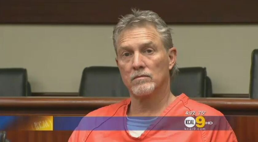 Lonny Lee Remmers, pastor of Heart of Worship Community Church in Corona, is seen in court in 2012. He and two members of the church pleaded guilty Monday to state charges of beating and threatening the life of a 13-year-old boy.