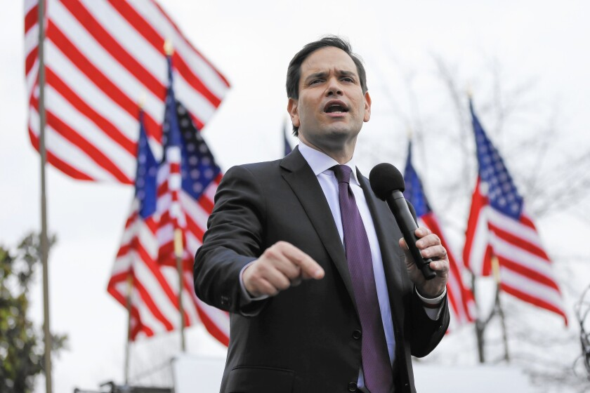 Marco Rubio's strategy in Nevada