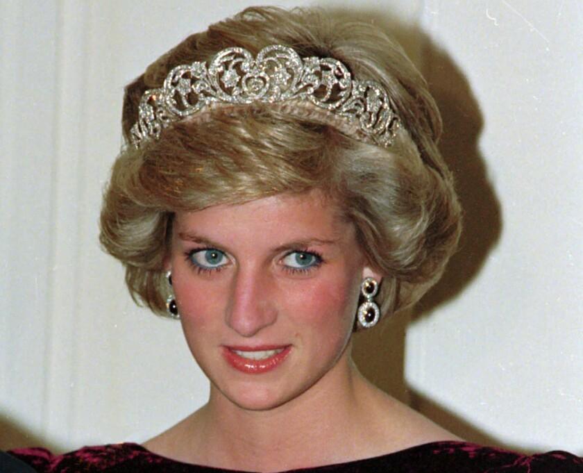 En esta fotografía de archivo del 7 de noviembre de 1985 la princesa Diana de Gran Bretaña