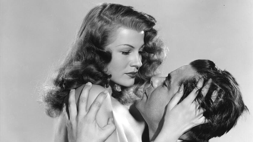 """Rita Hayworth and Glenn Ford in """"Gilda"""""""