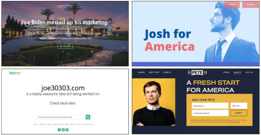 'Joe' domains