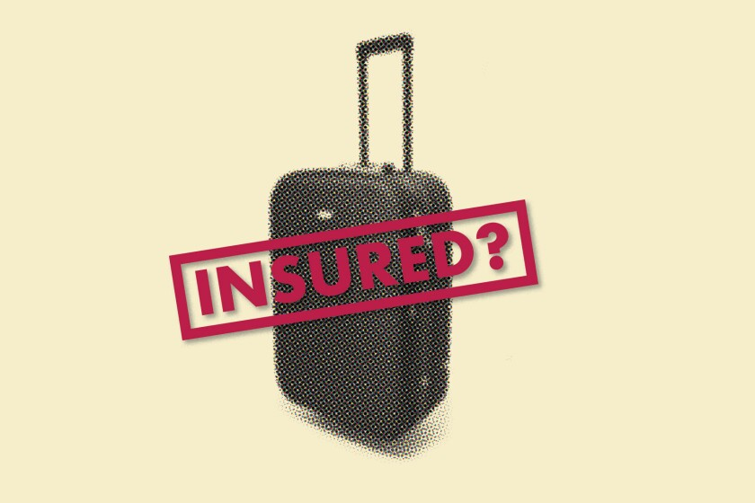 Illustration for travel insurance