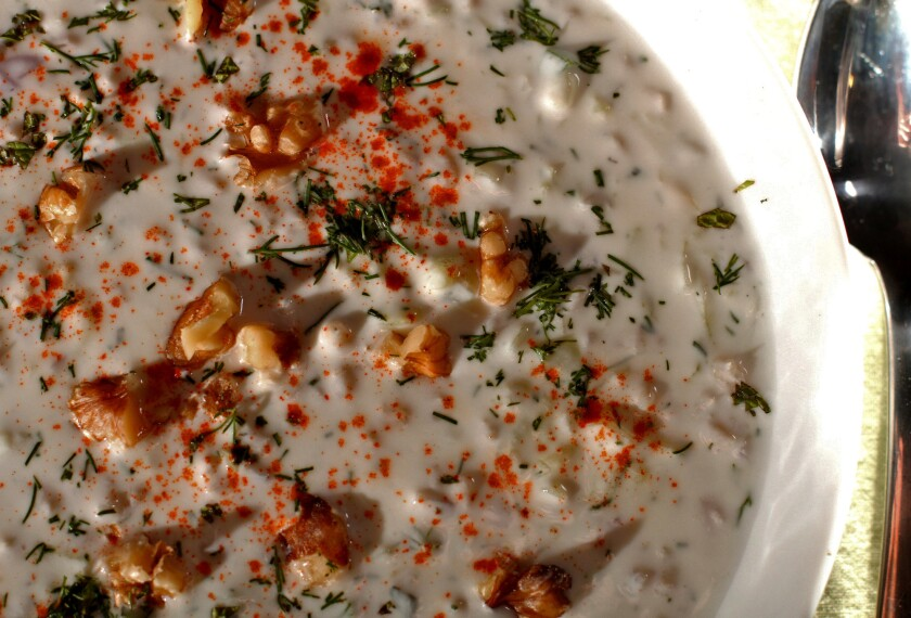 Recipe: Cucumber and yogurt soup