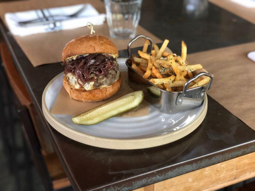 Cucina Urbana's Wagyu burger.