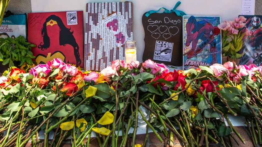 Fans started a Comic-Con memorial