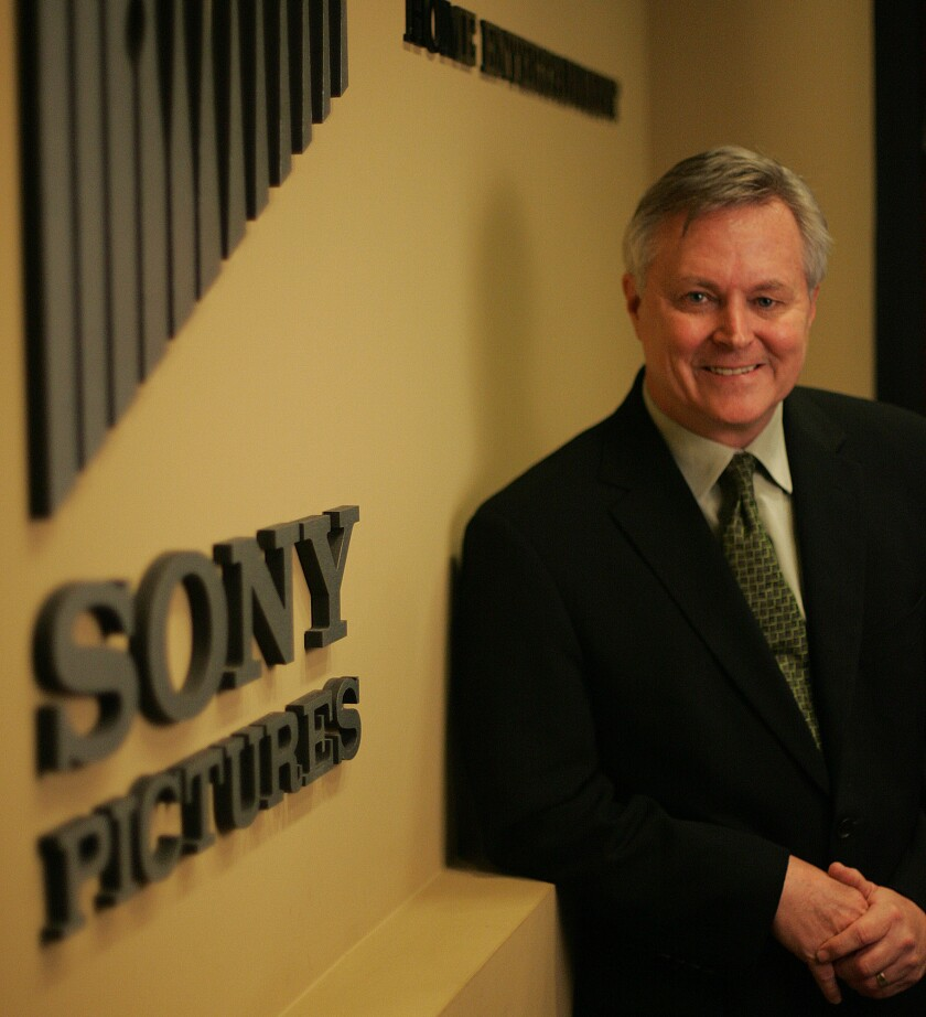 President of Sony Pictures Home Entertainment David Bishop is leaving the company in March of next year.
