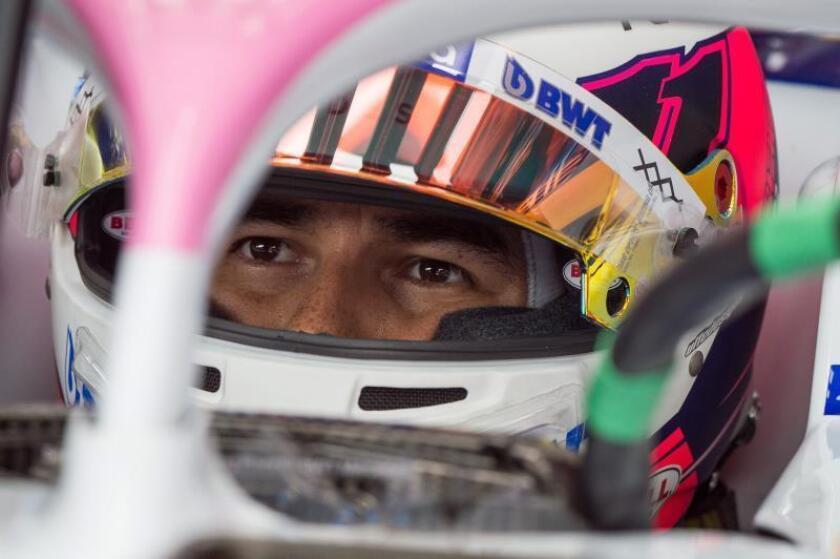 """Sergio Pérez: """"Ha sido un mal día. Espero que mejoren las cosas en carrera"""""""
