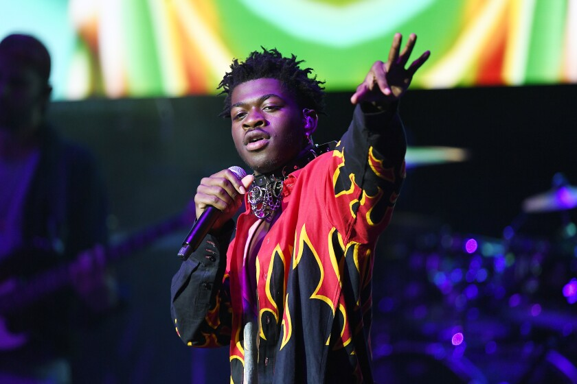Lil Nas X Pays Tribute To Late Rapper Juice Wrld In Concert