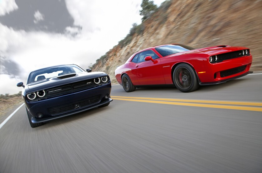 2015 Dodge Challenger SRT models