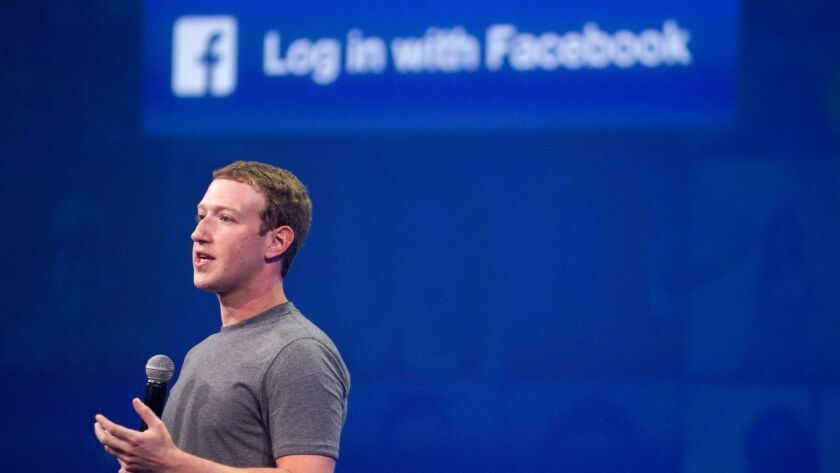 """""""I started Facebook, and at the end of the day I'm responsible for what happens on our platform,"""" Mark Zuckerberg said in a statement."""