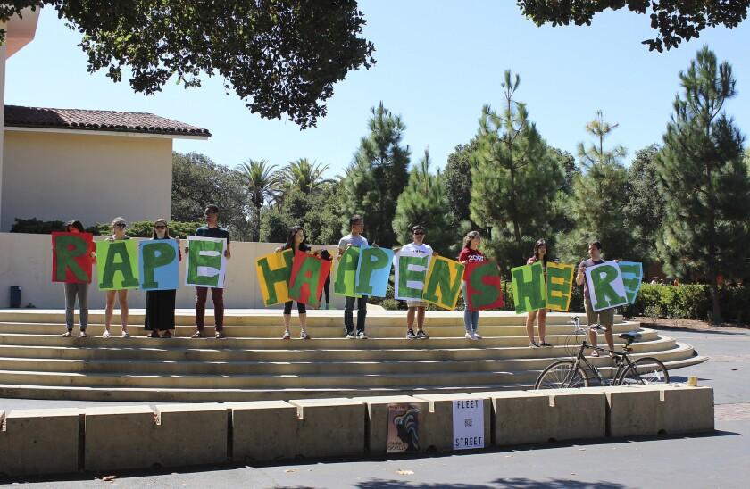 Stanford rape protest