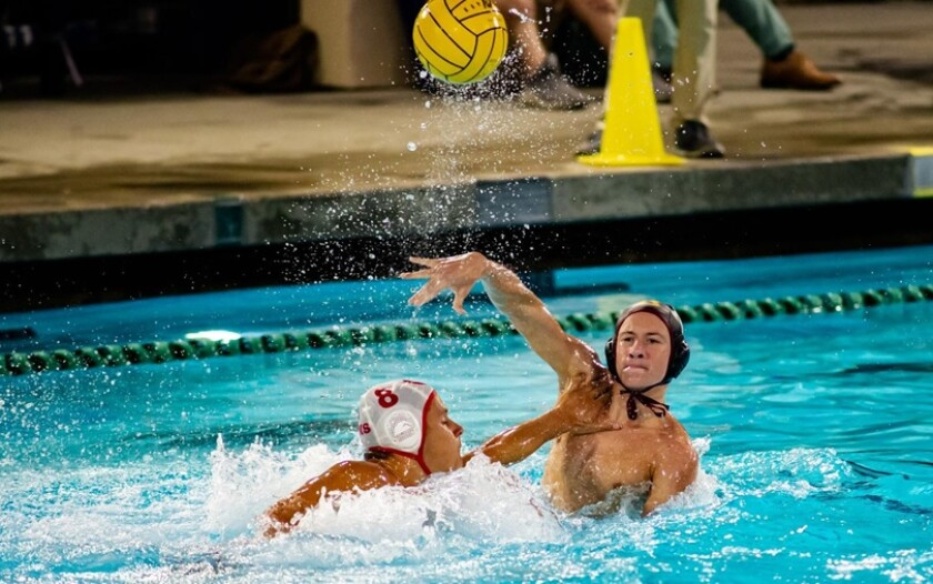 Mark Stone is taking a leadership role as a senior for The Bishop's School varsity water polo team this season.