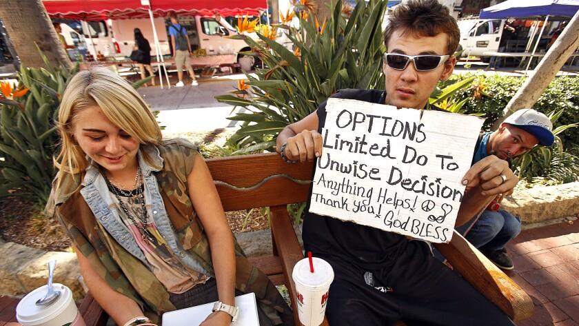 Panhandling in Santa Barbara