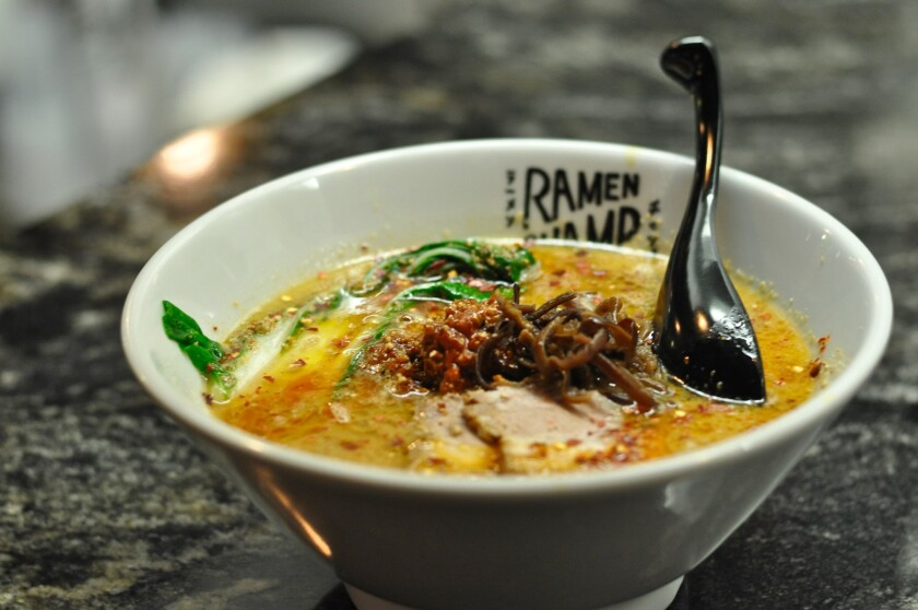 Ramen Champ, in the Far East Plaza, will reopen Friday, Oct. 2, under new ownership, with a new ramen menu.