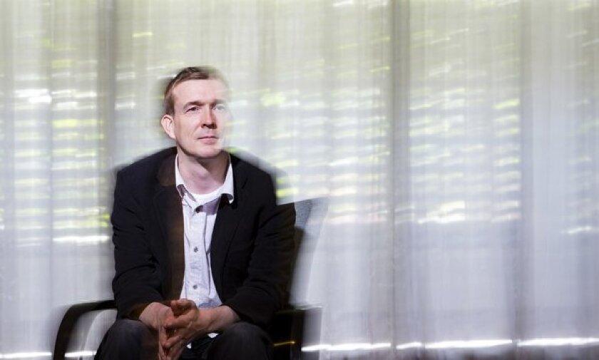 "David Mitchell, author of the novel ""Cloud Atlas."""