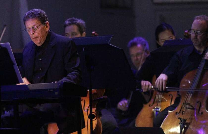 Composer Philip Glass, left, will be in the spotlight in the 2013-14 season at CAP UCLA.