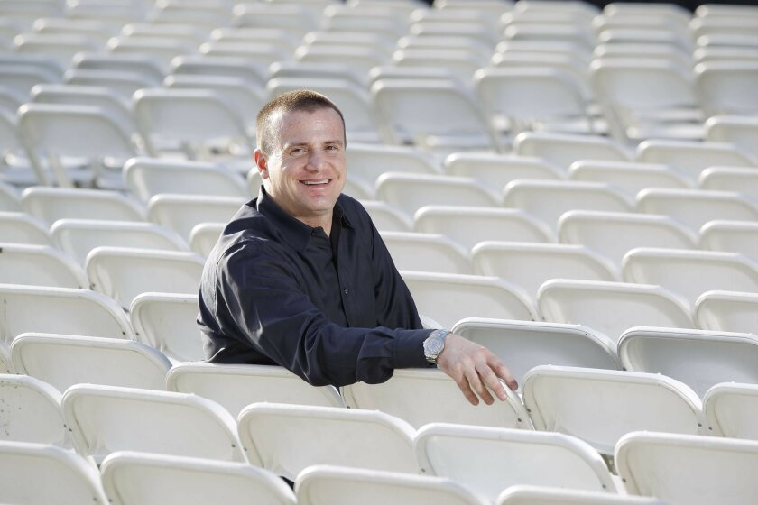 March 26, 2010_San Diego_California_USA_ John Wojas, who books the annual Humphrey's concert series.._Mandatory Photo Credit: Photo by John R. McCutchen/San Diego Union-Tribune/Copyright 2010 San Diego Union-Tribune