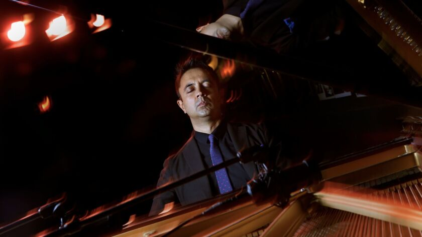Pianist Vijay Iyer, one of the most celebrated talents in jazz is curating this year's Ojai Music Fe