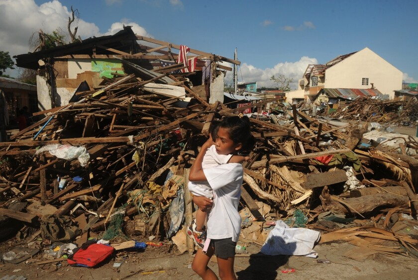Philippines typhoon death toll exceeds 6,000