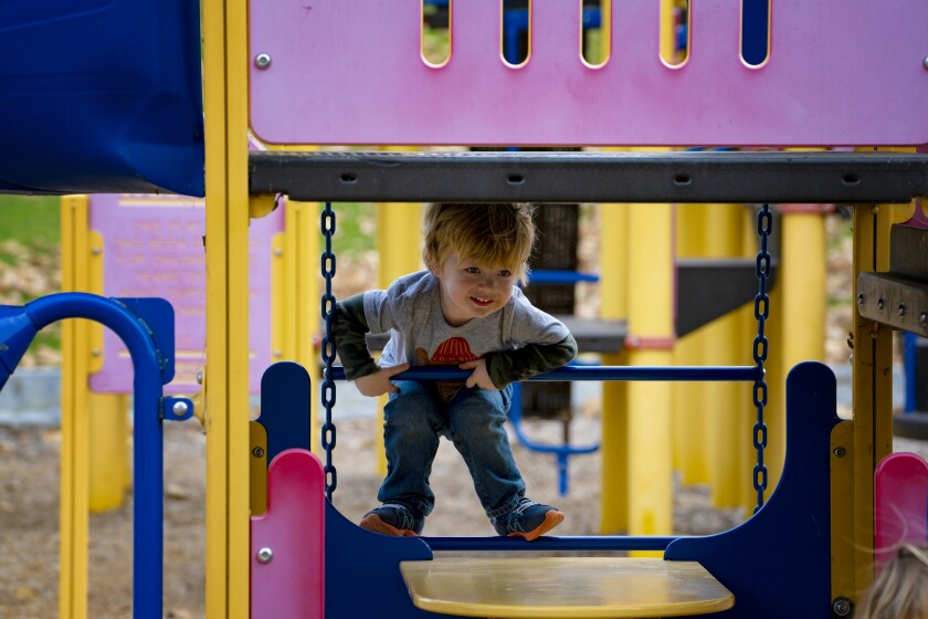 Area playgrounds that had been ordered closed under California's latest coronavirus restrictions may now reopen.