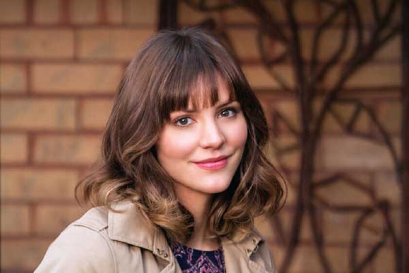 """Katharine McPhee in the TV romance """"In My Dreams"""" on ABC."""