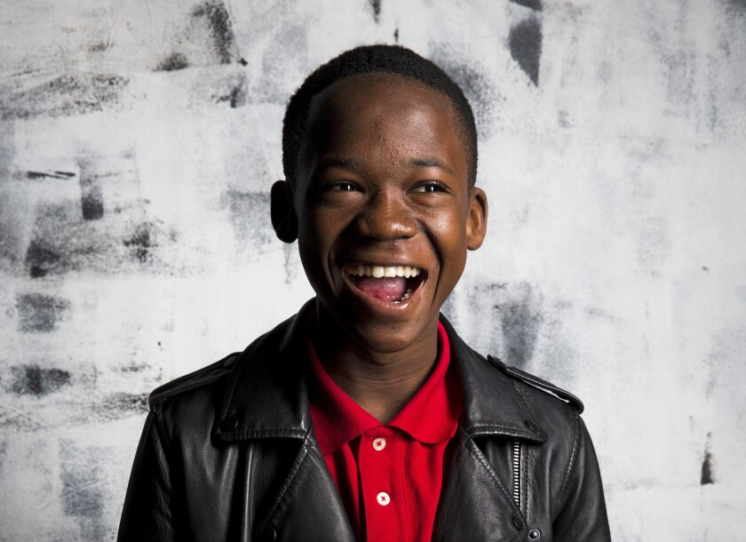 'Beasts of No Nation' actor Abraham Attah