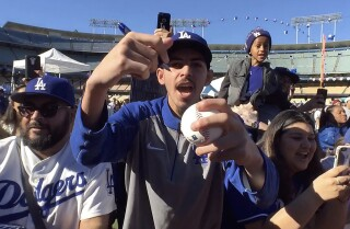Dodgers FanFest: Take me out to the ball game