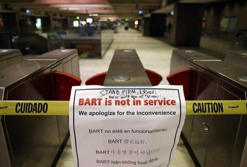 The BART strike brings out class ugliness in Silicon Valley