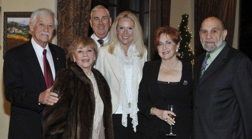 Jack and Colette Hessler, Dale and Beverly Busch, Regina Kurtz, Al Isenberg (Photo: Rob McKenzie)