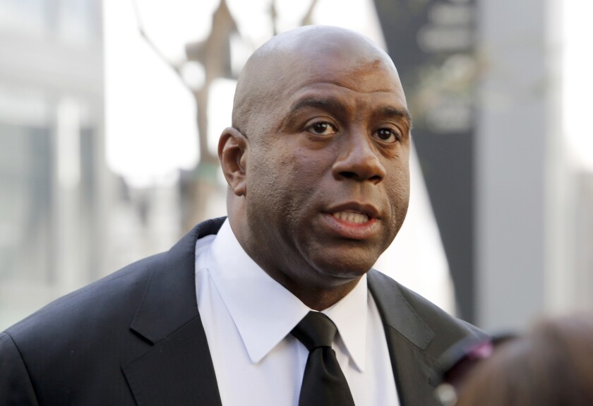 Magic Johnson reportedly has interest in buying the Clippers.