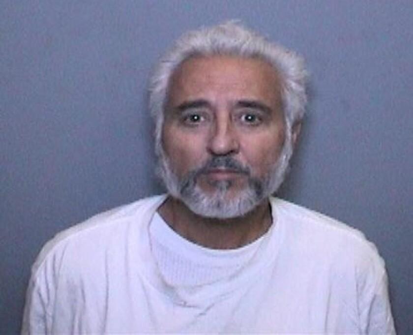 Anthony Thomas Garcia, 61, is accused of killing Abelardo Estacion, 81, in 2015 in Newport Beach.