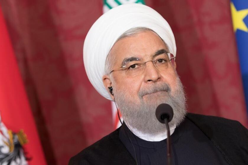 El presidente de Irán, Hasan Rohaní. EFE/Archivo
