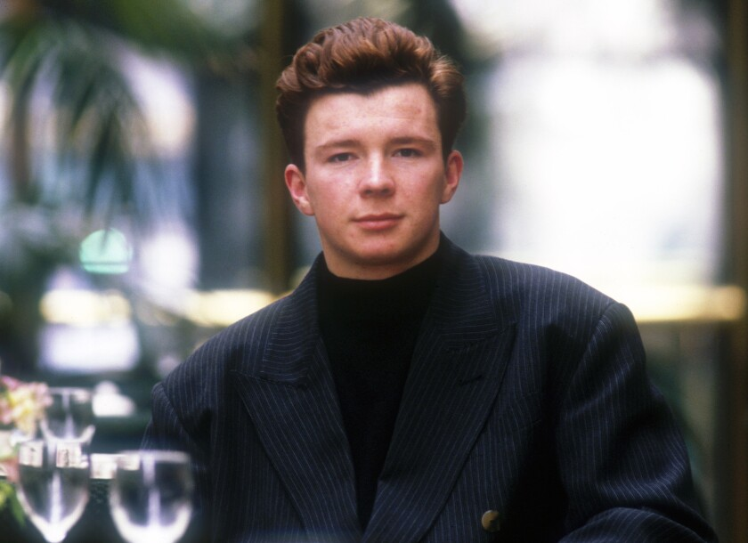 English singer Rick Astley had a little surprise for Boston Red Sox fans on Sunday.