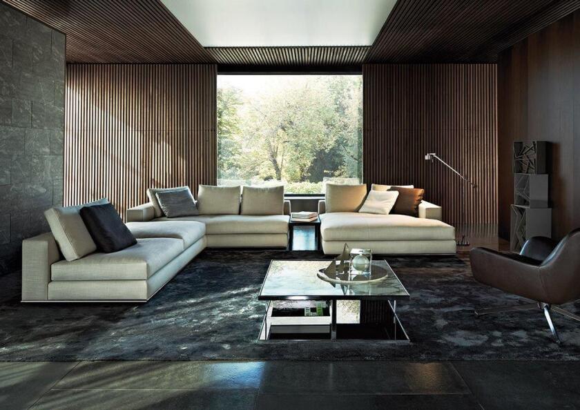 At Minotti Los Angeles, the top-selling sofa is the Rodolfo Dordoni-designed Hamilton.