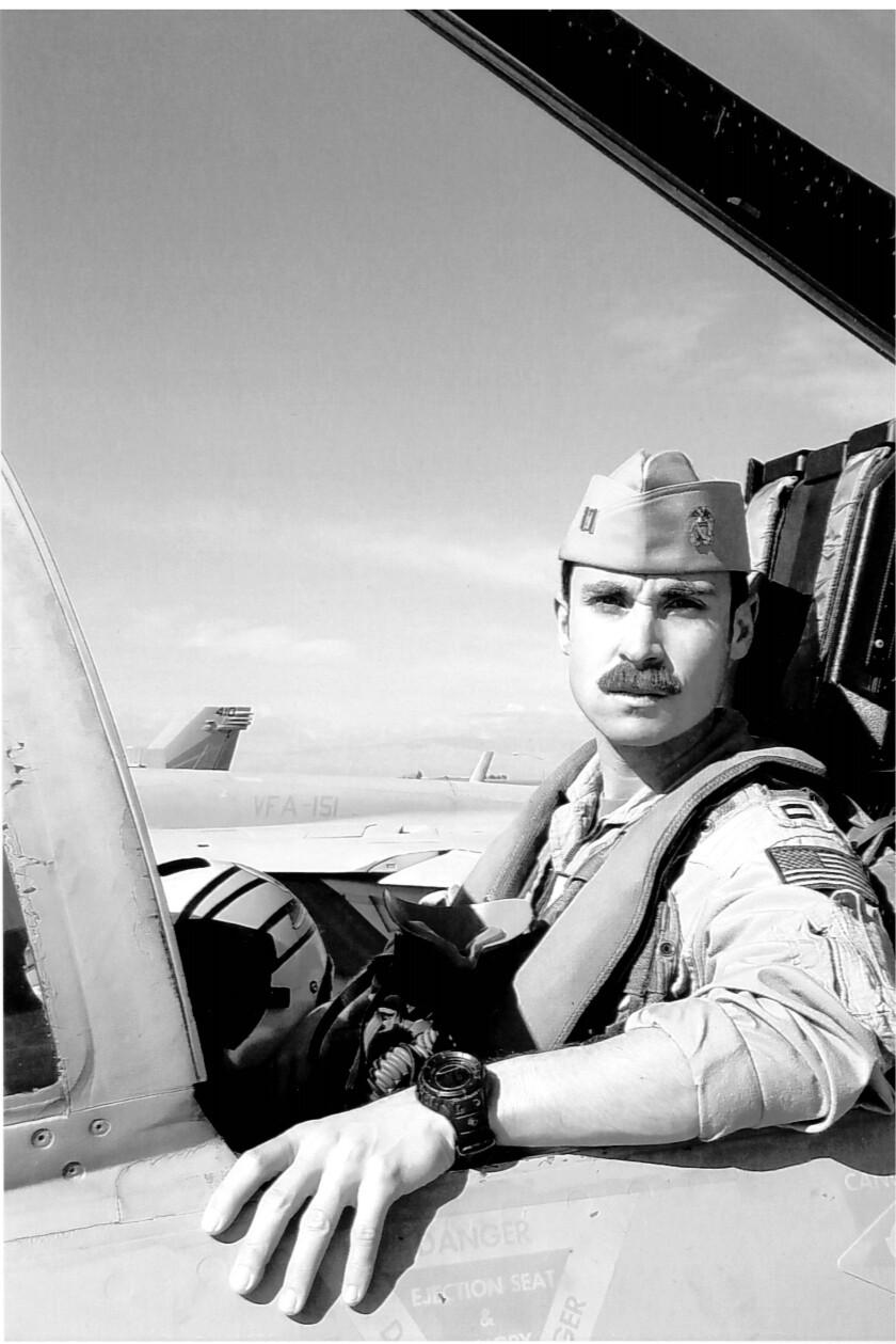 Lt. Charles Z. Walker, 33, died in a jet crash Wednesday.