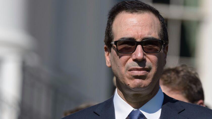 """The U.S. has experienced slow economic growth for far too long,"" Treasury Secretary Steven Mnuchin said in a statement."