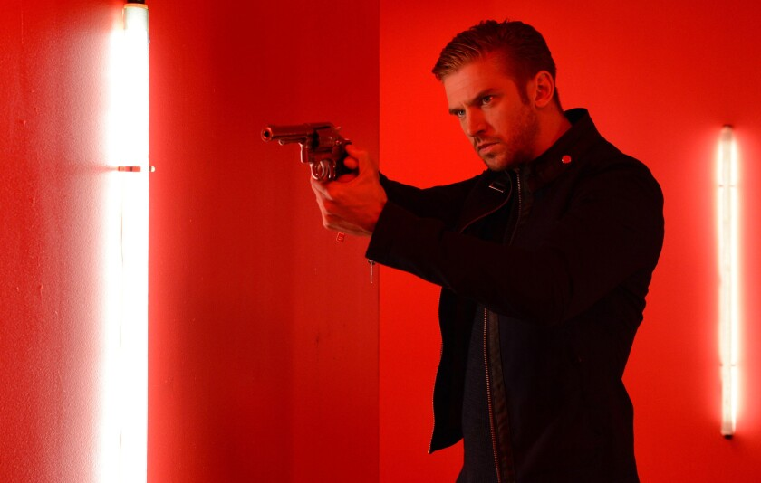 Review: Dan Stevens gives 'The Guest' its psychotic, thrilling charm