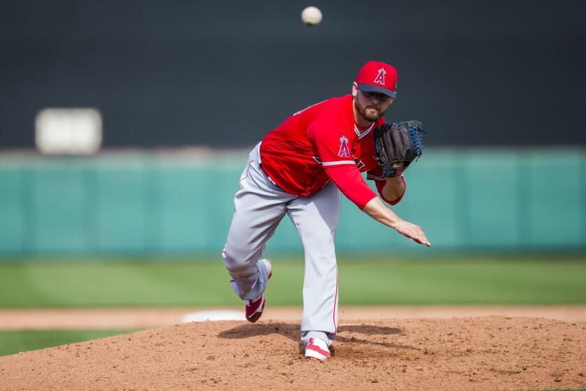 Angels reliever Cam Bedrosian, first baseman Ji-Man Choi survive final cuts