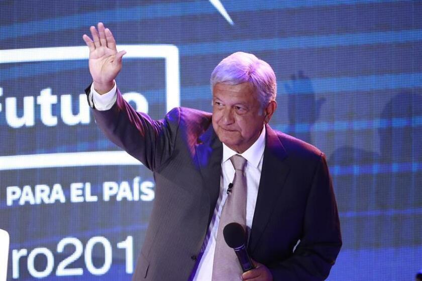 El candidato izquierdista a la presidencia de México, Andrés Manuel López Obrador. EFE/Archivo