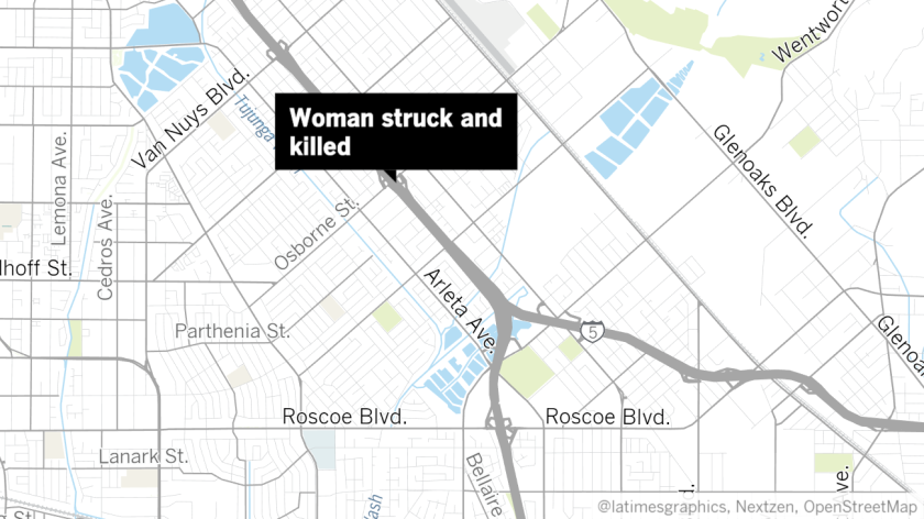 Map Of California 5 Freeway.Woman Struck And Killed On 5 Freeway In Arleta Los Angeles Times